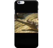 Ghastly Gharial iPhone Case/Skin