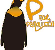 P for Penguin by auraclover