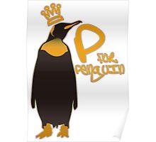 P for Penguin Poster