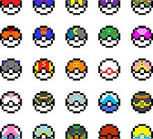 Pokeballs by CreateAndDesign