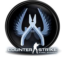 CSGO Counter Strike Global Offensive Counter-Terrorist CT Logo by benzworld