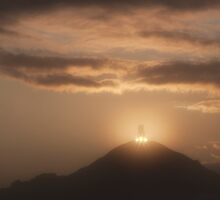 Glastonbury Tor Sunrise by Nick Pound