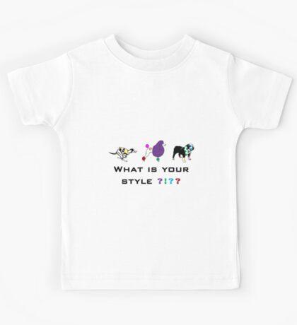 Dog style Kids Tee