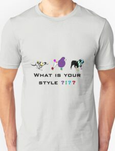 Dog style Unisex T-Shirt