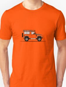 A Graphical Interpretation of the Defender 90 Station Wagon Adventure Edition Unisex T-Shirt