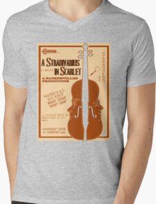 A Stradivarius in Scarlet Mens V-Neck T-Shirt