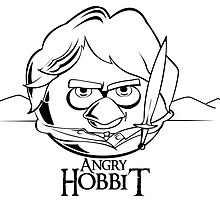 Angry Hobbit by mocanulucian