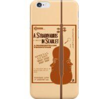 A Stradivarius in Scarlet iPhone Case/Skin