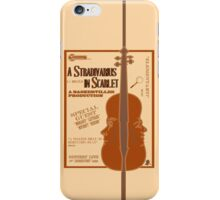 A Stradivarius in Scarlet iPhone Case/Skin