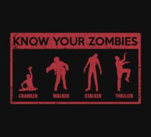 Know Your Zombies by KDGrafx