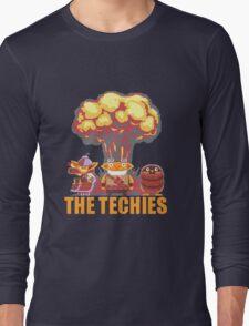 Dota 2 - Techies Pixelated Long Sleeve T-Shirt