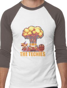 Dota 2 - Techies Pixelated Men's Baseball ¾ T-Shirt