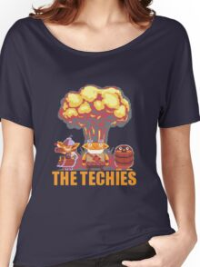 Dota 2 - Techies Pixelated Women's Relaxed Fit T-Shirt