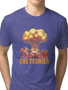 Dota 2 - Techies Pixelated Tri-blend T-Shirt
