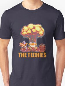 Techies Pixelated Unisex T-Shirt