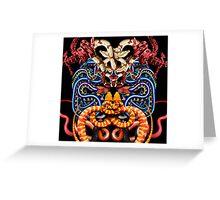 Snake Animal Print Crocodile  Greeting Card