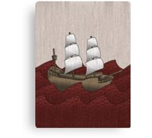 Galleon Canvas Print