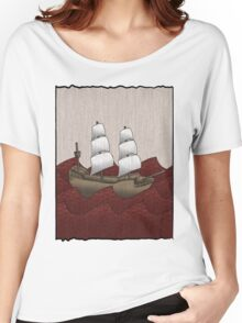 Galleon Women's Relaxed Fit T-Shirt