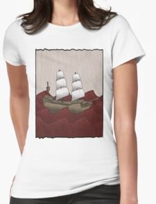 Galleon Womens Fitted T-Shirt
