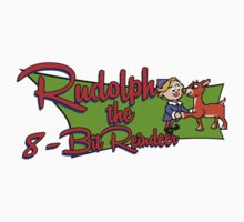 Rudolph the 8bit Reindeer - Christmas Tee by printproxy