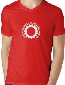 FIXED Mens V-Neck T-Shirt