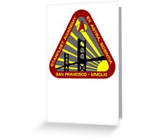 Starfleet Academy Greeting Card
