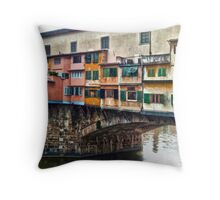 Florence Italy Throw Pillow