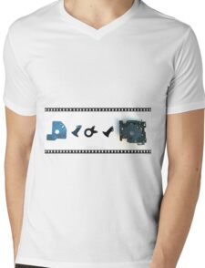 Shutter Bug Mens V-Neck T-Shirt
