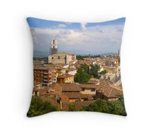 Perugia Italy Throw Pillow