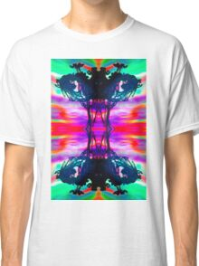 Ink Blot Psychedelic  Classic T-Shirt