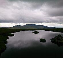 Skiddaw from a gloomy Blencathra by Helz