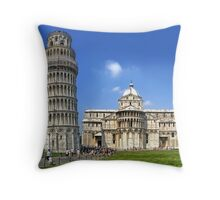 Pisa Italy Throw Pillow