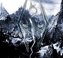 Skyrim Winter Poster by mackncheese