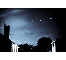 Bungalow stars Photographic Print