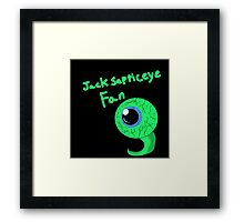 Jacksepticeye fan Framed Print