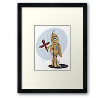 Marionette Doll Framed Print
