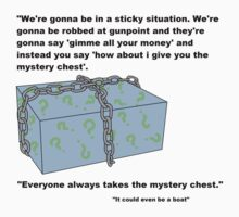 Mystery Chest! It could be anything by PrettyPenny