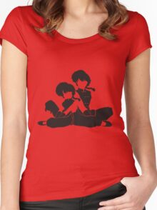 Ranma 1/2 Women's Fitted Scoop T-Shirt