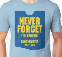 Never Forget Blockbuster Unisex T-Shirt