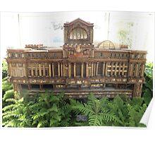 Model Original Pennsylvania Station, New York Botanical Garden Holiday Train Show, Bronx, New York  Poster