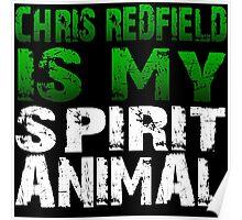 Resident Evil Chris Poster