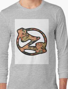 Pinup Wallpaper  Zed Long Sleeve T-Shirt