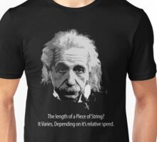 How long is a piece of String? Unisex T-Shirt
