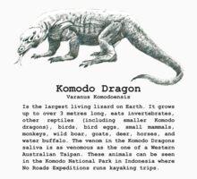 Komodo Dragon by noroads