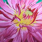Dazzling Pink Dahlia by Wendy Sinclair