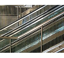 Financial Stairs Photographic Print