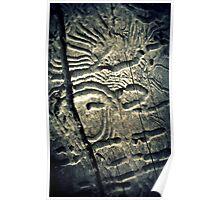 Bush Hieroglyphs Poster