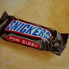 Snickers Fun Size Candy Bar by Pamela Burger