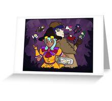 Eerie Halloween Greeting Card