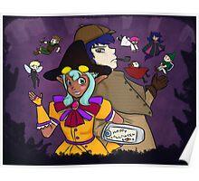 Eerie Halloween Poster